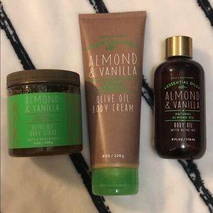 Bath and body set
